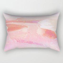 pink moonrise Rectangular Pillow