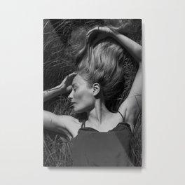 Beautiful woman Metal Print