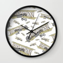 Wright Flier 2020 Wall Clock