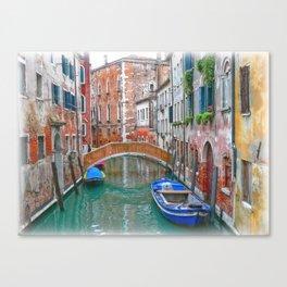 Venetian Idyll Canvas Print