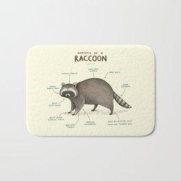 Anatomy of a Raccoon Bath Mat