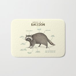 Anatomy of a Raccoon Bath Mat