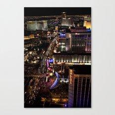 Vegas Strip Canvas Print