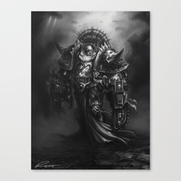 Champion Of Chaos Undivided Canvas Print