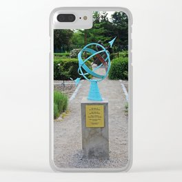 The Kiss of the Sun Clear iPhone Case