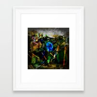 ukraine Framed Art Prints featuring UKRAINE by lucborell