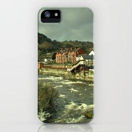 Llangollen Station iPhone Case