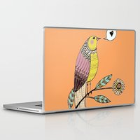 bebop Laptop & iPad Skins featuring amour d'un jour by sylvie demers