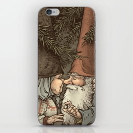 Gnome Engagement iPhone Skin