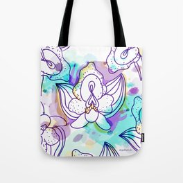 Sexy Orchid Tote Bag