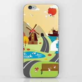 Planet Life iPhone Skin