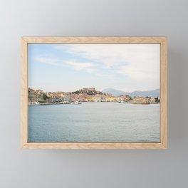 View of Portoferraio | Elba Island | Tuscany | Italy | Travel photography | Art Print Framed Mini Art Print