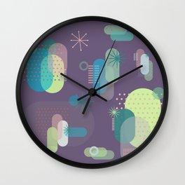 Intergalactic Cactus Wall Clock