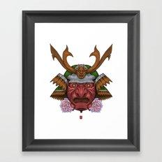 Redskin Samurai  Framed Art Print