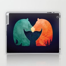 A Tail of Two Horses Laptop & iPad Skin