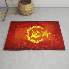 Paint Communist Hammer & Sickle Rug