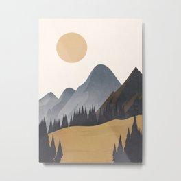 Minimalistic Landscape VI Metal Print