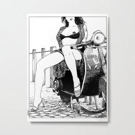 asc 421 - La virée (The joy ride) Metal Print