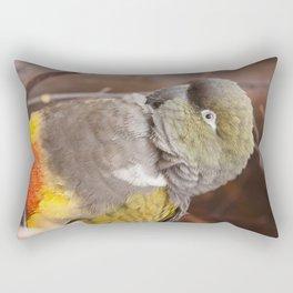 Patagonian Conure Rectangular Pillow