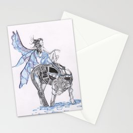 Enchanted Swine Stationery Cards