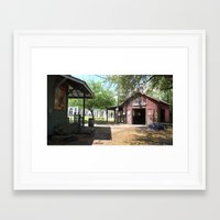 outdoor Framed Art Prints featuring Outdoor by L James M Arts