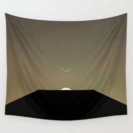 2001 Space Odyssey Minimal Dawn of Man Monolith Alignment Wall Tapestry