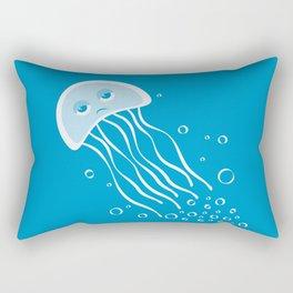 Apathetic Jellyfish Rectangular Pillow