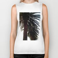 palm trees Biker Tanks featuring Palm Trees by Moonshine Paradise