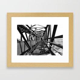 Huber Breaker Framed Art Print