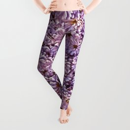 Abstract flowers Leggings