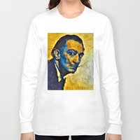 salvador dali Long Sleeve T-shirts featuring salvador by KrisLeov