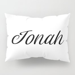 Name Jonah Pillow Sham