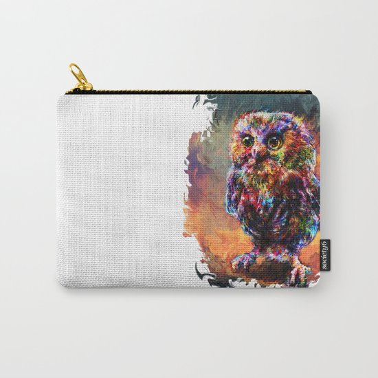 brave little owl Carry-All Pouch