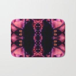Bloomed Deep Kaleidoscope Collage Bath Mat