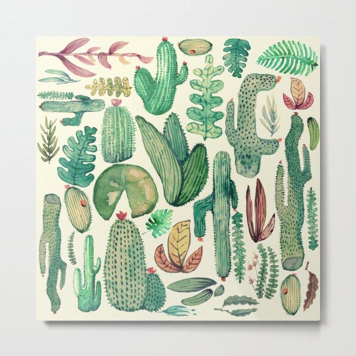 cactus and nature Metal Print