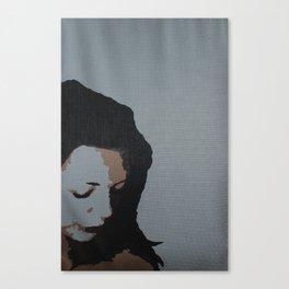 Uneasy, 2006 Canvas Print