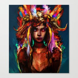 native girl Canvas Print