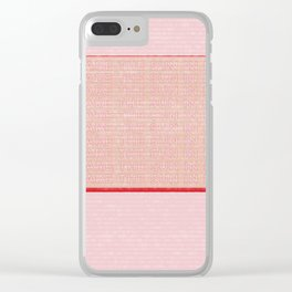 The Sun In Drag Clear iPhone Case
