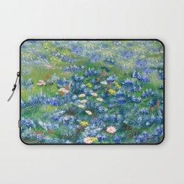Spring Flowers in Texas Laptop Sleeve