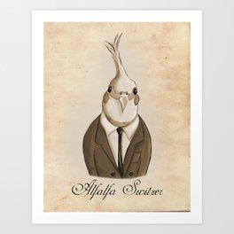 Alfalfa Switzer Art Print