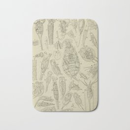 Microscopic Biology Bath Mat