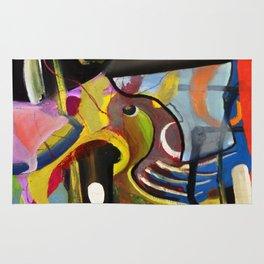 Circus Juice (oil on canvas) Rug