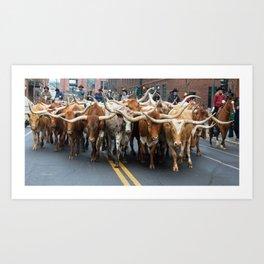 National Western Stock Show Parade Art Print