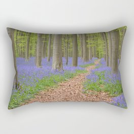 Bluebell Forest 2 Rectangular Pillow