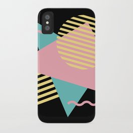 Memphis Pattern 28 / 80s - 90s Retro iPhone Case