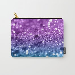 Unicorn Girls Glitter #19 #shiny #decor #art #society6 Carry-All Pouch
