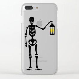 The Hermit Pirate Clear iPhone Case