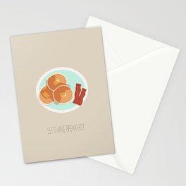 Pancake Breakfast Stationery Cards