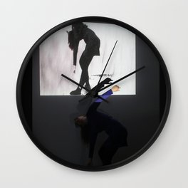DropArt & Shirly @BYOB TelAviv #02 Wall Clock
