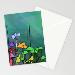 Family of Mushrooms Stationery Cards